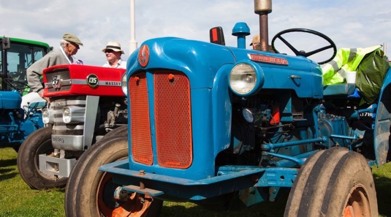 North Cotswold Tractor Run 2016