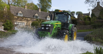 Large Turnout on North Cotswold Bluebell Tractor Run