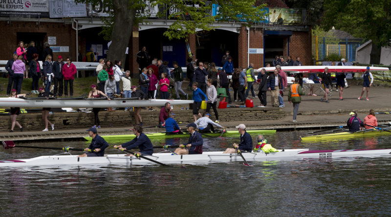 Exciting Evesham Regatta with Close Racing!