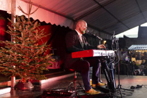 Andrew James at Chipping Campden Christmas Market 2018