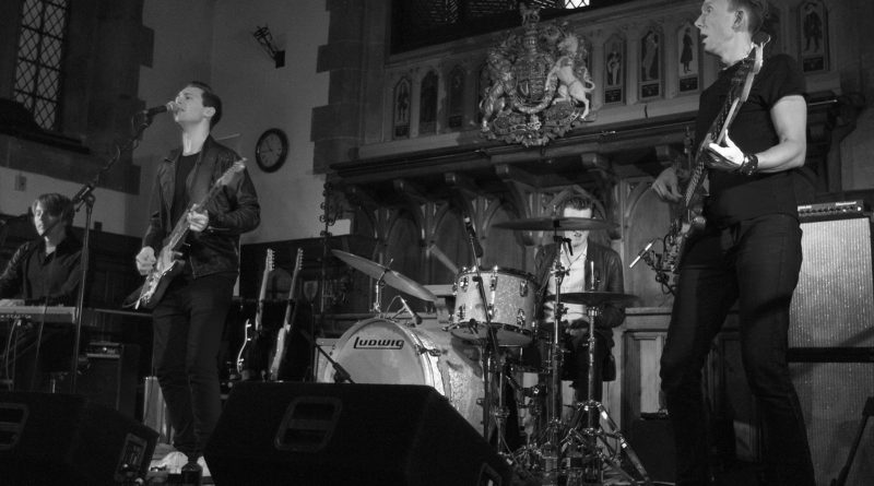 Laurence Jones @Lichfield Guildhall with Support Heidi Browne