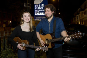 Tom & Christie @Blue Piano